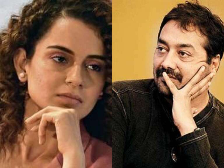 Kangana Ranaut Takes A Jibe At Anurag Kashyap: Shared Old Video