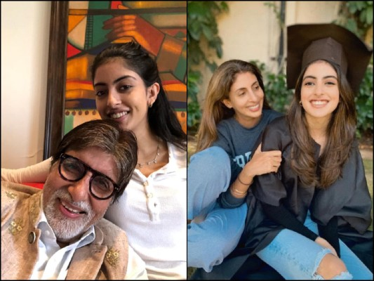 Video: Amitabh's Grand Daughter Navya Naveli Talks On Anxiety