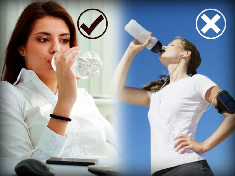 Sit and Sip: 5 Amazing Benefits Of Drinking Water In Sitting Position