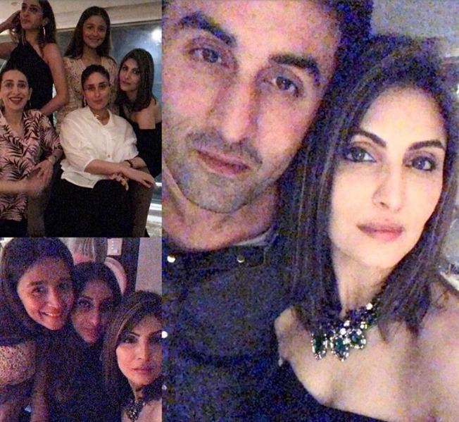 Ranbir Kapoor And Alia Bhatt's Birthday Bash For Riddhima Kapoor Sahni