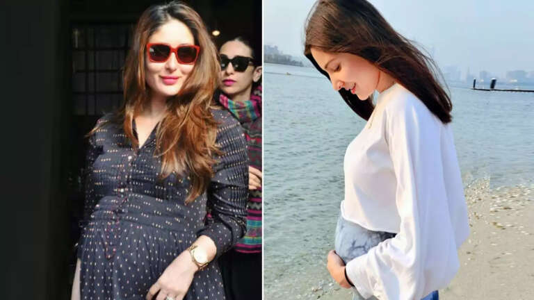 Kareena Kapoor Showers Love On Anushka Flaunting Her Baby Bump