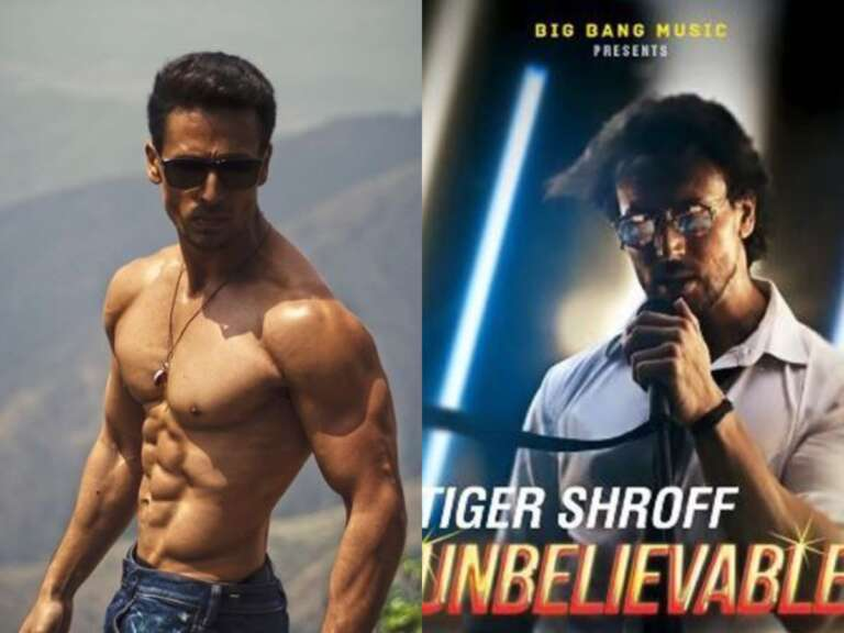 Tiger Shroff  Makes His Singing Debut With'Unbelievable'