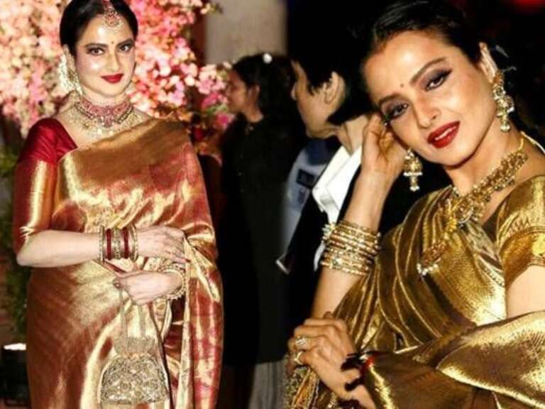 Rekha's Birthday Special: From  Vintage To modern She Is The Right Mix Of Both