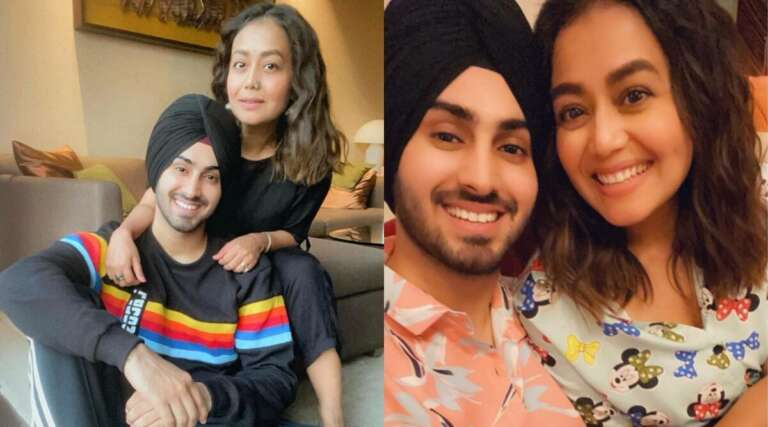 Neha Kakkar And Rohanpreet Singh Posed For A Romantic Post