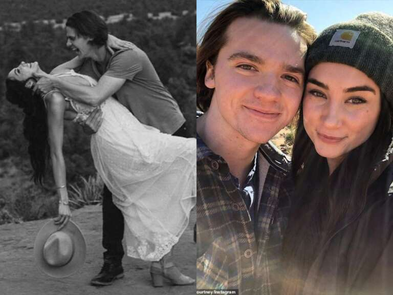 The Kissing Booth' Actor Joel Courtney Marries Mia Scholink