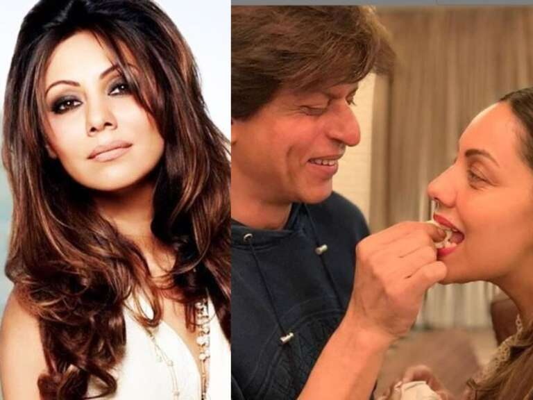 ​Gauri Khan Celebrates Her 50th Birthday With Shah Rukh Khan