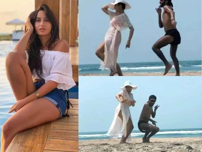 Nora Fatehi's Beach Dance Video  Is Winning The Internet