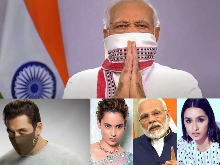 #Unite2FightCorona': Bollywood Stars Support PM Modi's Initiative