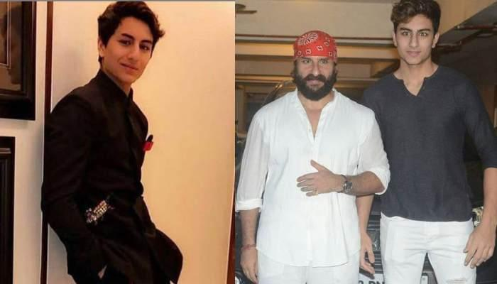 Saif's Son Ibrahim Posed Liked His Father: Netizens Called Them Carbon Copy