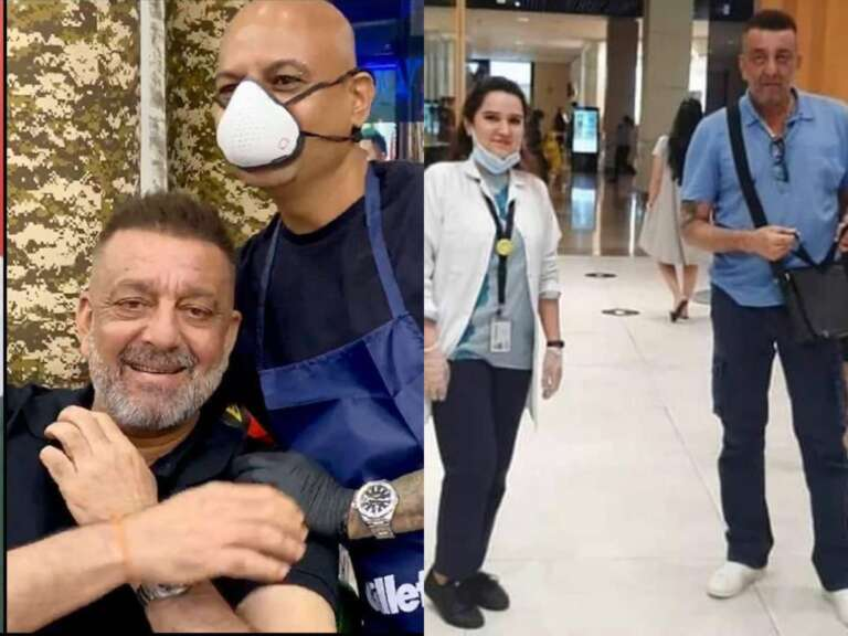 Sanjay Dutt's Make Over Amid His Cancer Treatment: Watch Video