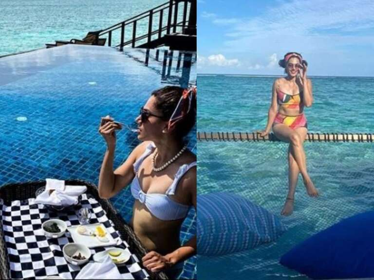 Taapsee Pannu Shares Pictures Of Her Maldives Trip.