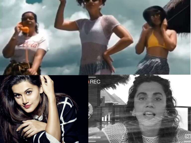 Taapsee Pannu's Lastest Music Video Is Just Stunning: Must Watch