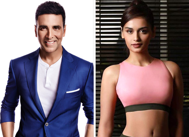 Manushi Chhillar Excited To Be On The Sets with Akshay Kumar