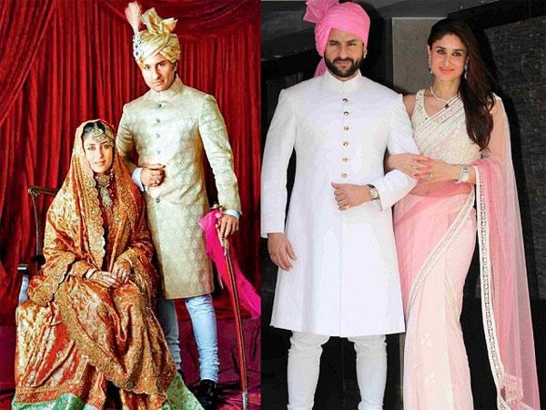 Saif Ali Khan And Kareena Kapoor Celebrates Their 8th Wedding Anniversary
