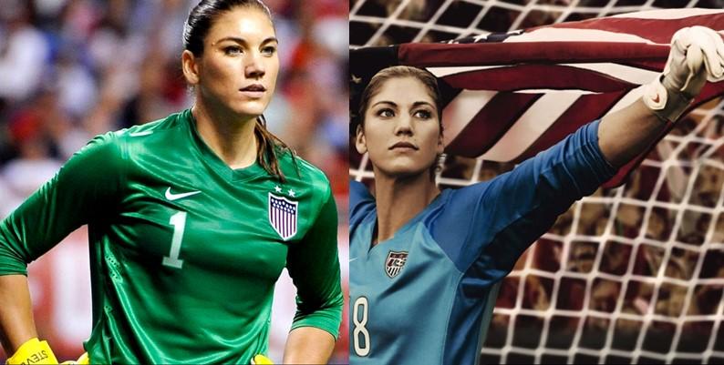 World's most beautiful athletes