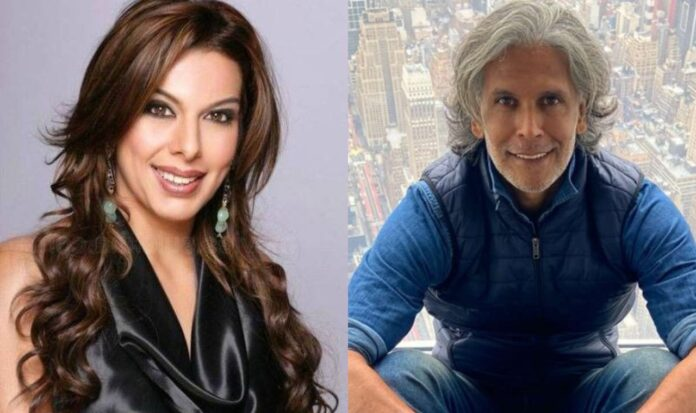 Pooja Bedi stands in support for Milind Somans beach pic