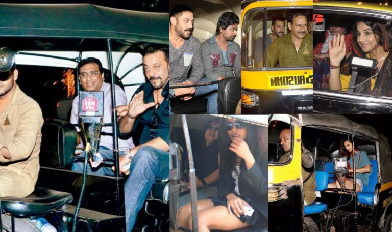 Bollywood Stars Who Travel By Auto-Rikshaw In Public Without Any Fear