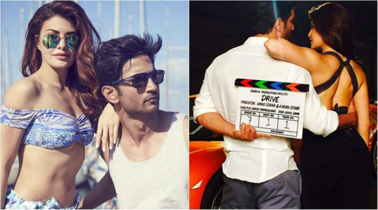 Jacqueline Fernandez Recalls Sushant Singh Rajput 1 Year After The Release Of 'Drive'