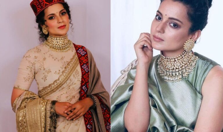 Kangana Ranaut's Unique Experiment With Saree Is A Must Watch