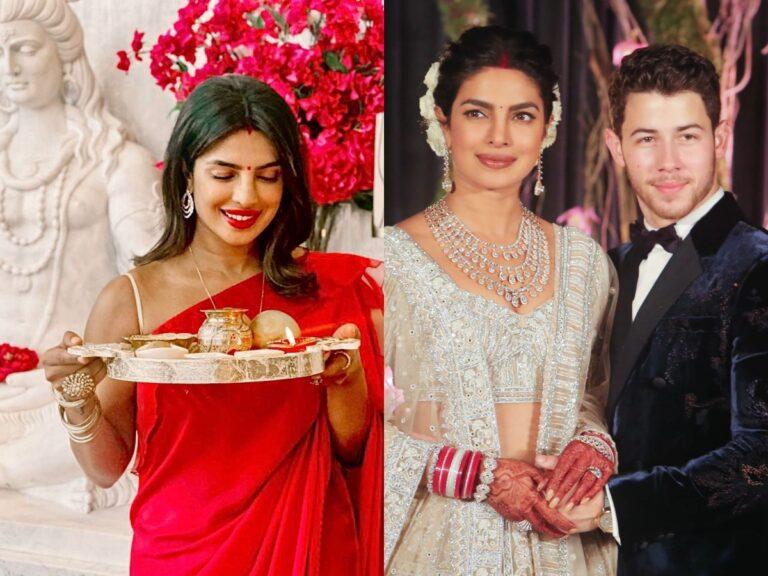Priyanka Chopra With Nick Jonas In LA: Shares Pics Of Karva Chauth 2020