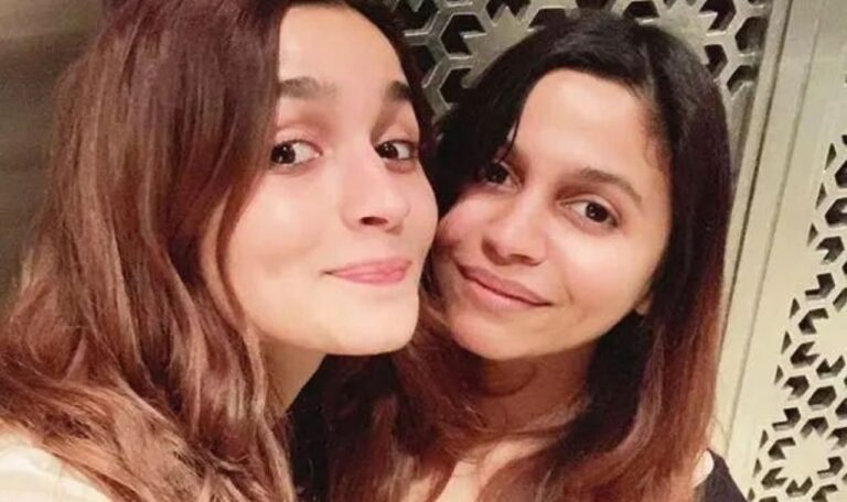Alia's Adorable Throwback Video With Sister Shaheen Bhatt