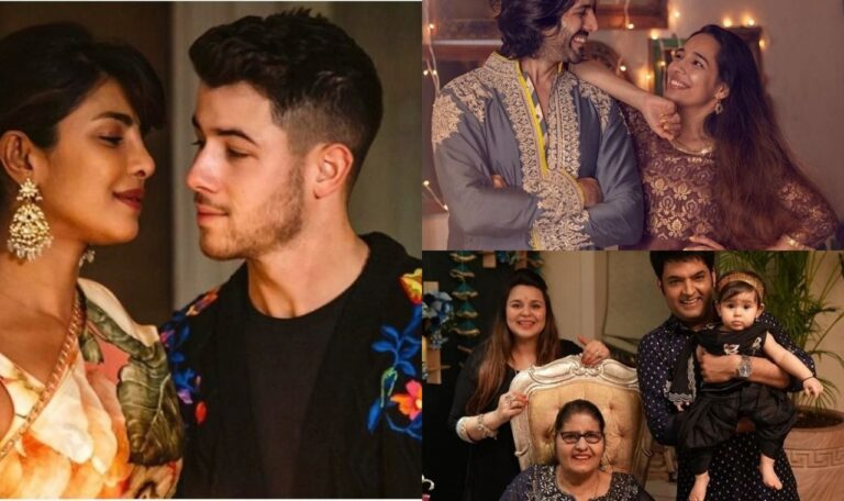 This Is How Bollywood Celebs Celebrated Diwali: A Look At Their Stunning Photos