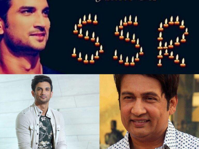 Shekhar Suman Urges Fans To Light Diya On Diwali In SSR's Memory