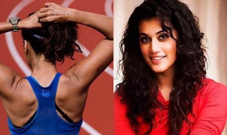 Taapsee Pannu Shares First Look Of Rashmi Rocket