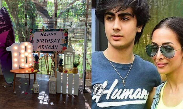 Malaika Drops A Cute Picture From Her Son Arhaan's Birthday Bash