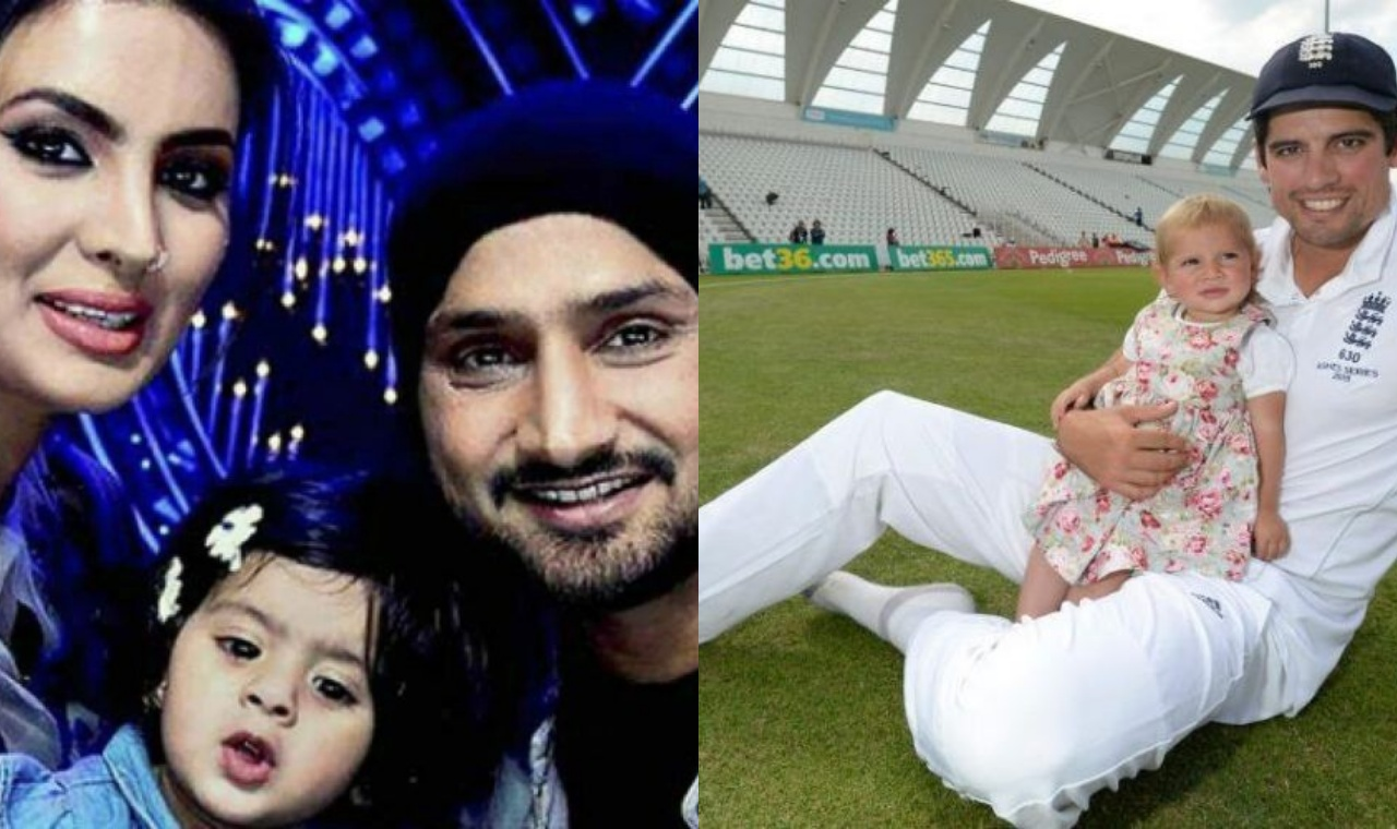 Cricketers and their daughters