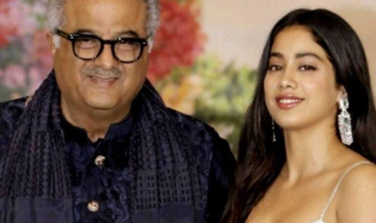 Janhvi Kapoor Shares Precious Childhood Photos With Dad Boney Kapoor