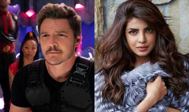 "First Look Of Pedro Pascal and Priyanka Chopra ""We Can Be Heroes"""