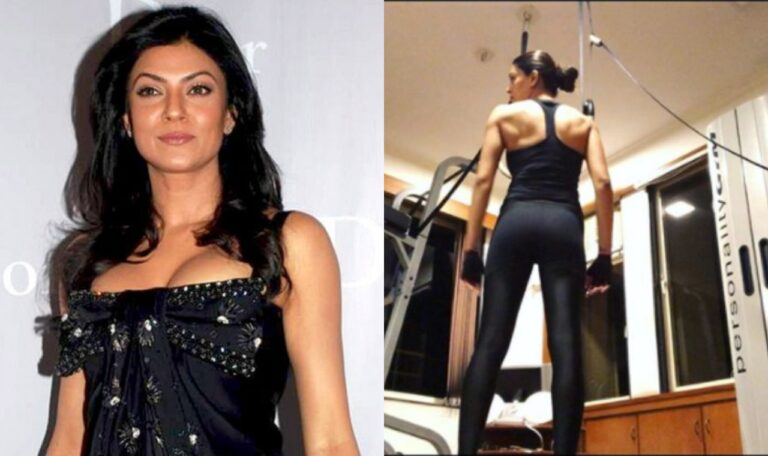 Sushmita Sen Sweating It Out: Shared A Glimpse Of Her Fit Body