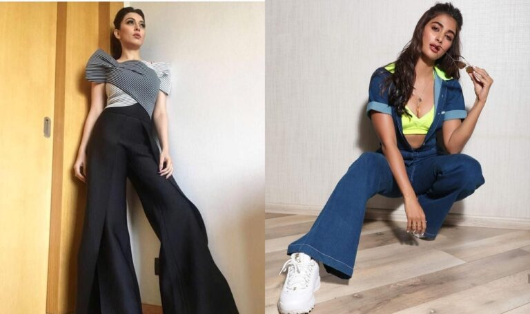 Actresses Who Posed Well In Flared Pants: A style from the 90s