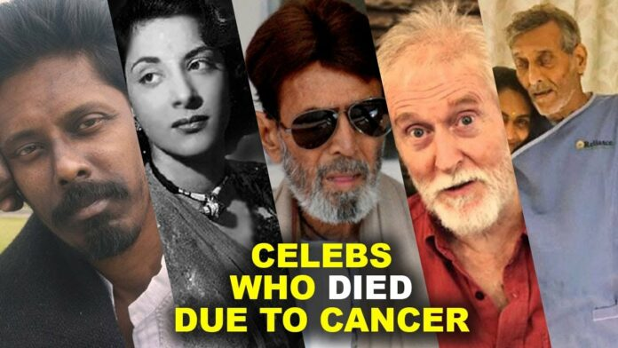Bollywood Celebrities who died due to cancer