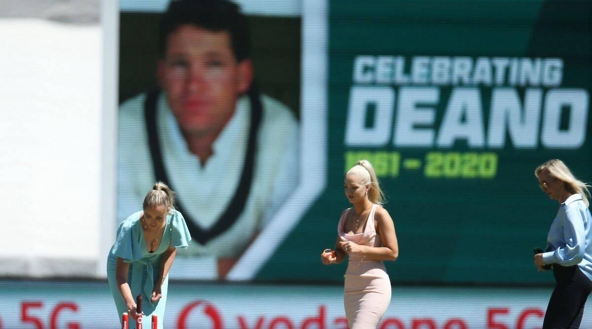 Dean Jones Tribute Australia Vs India Boxing Day Test Match