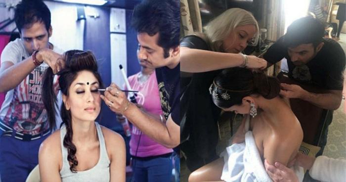 makeup room pics of bollywood actresses