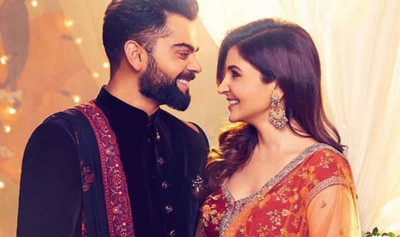 Virat kohli anushka sharma wedding anniversary