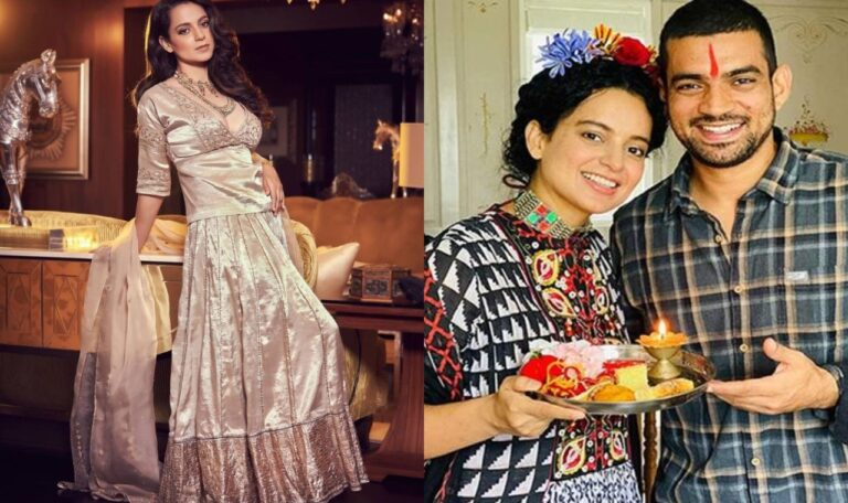 Kangana Ranaut Shared Unseen Pictures From Her Brother Aksht Wedding