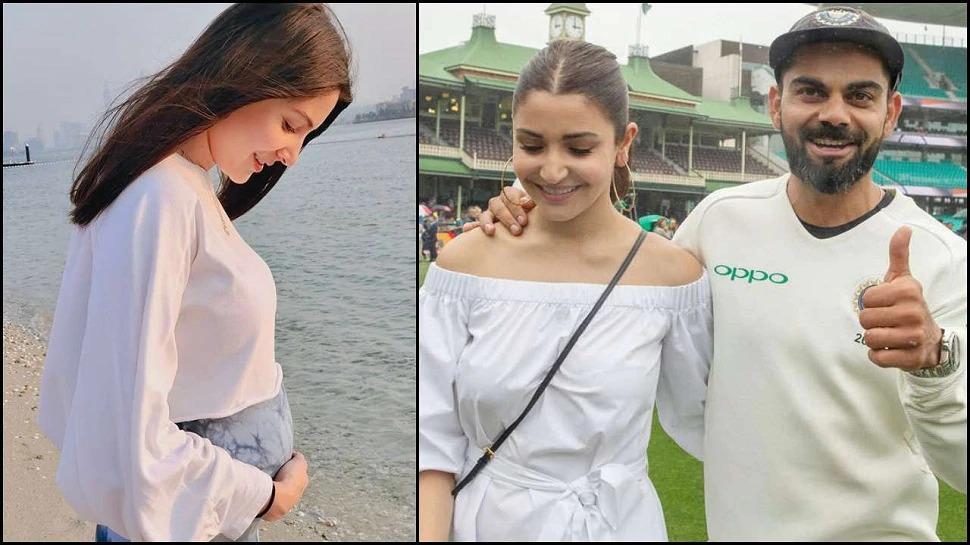 Superb: Watch Anushka Sharma Performing Yoga With Her Baby Bump