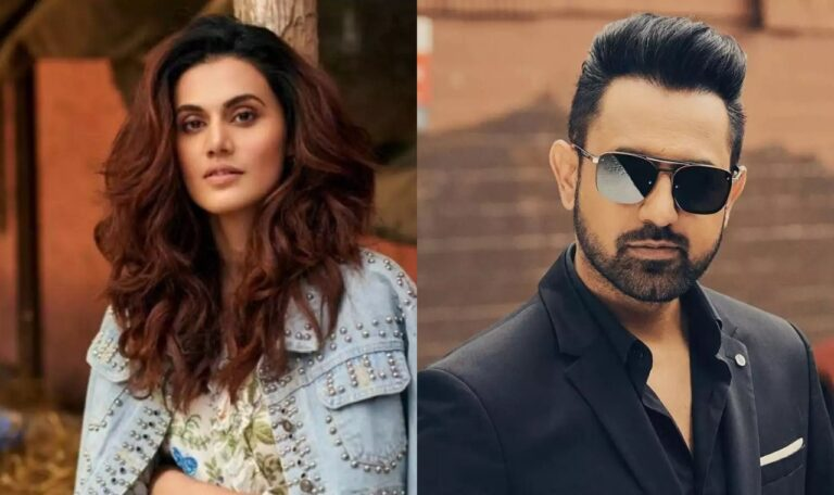Gippy Grewal Criticized Bollywood For Not Standing Up For Punjab: Here's What Tappsee Reacted To It