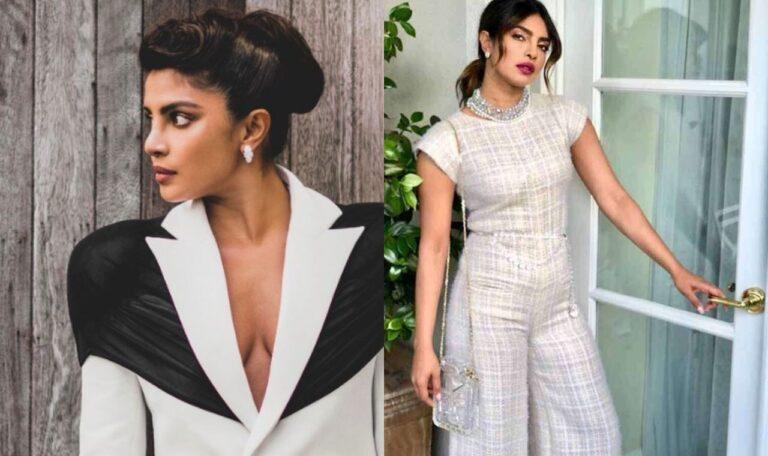 Priyanka Chopra Pantsuit For Fashion Awards 2020 Is Giving Serious Boss Lady Vibes