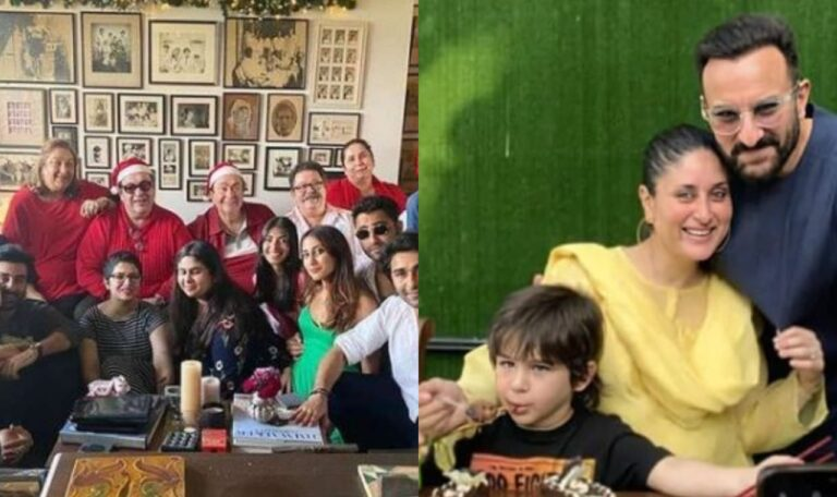 Sneak Peek Into The Christmas Get Together Of Kapoor Family