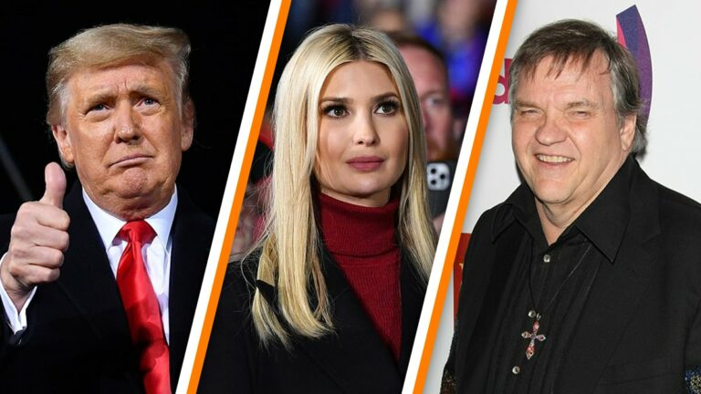 Oops: Ivanka Trump Tags Meat Loaf Instead Of Donald Trump