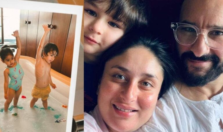 This Is What Netizens Commented After Kareena Kapoor Posted Pics Of Her son Taimur And Inaaya