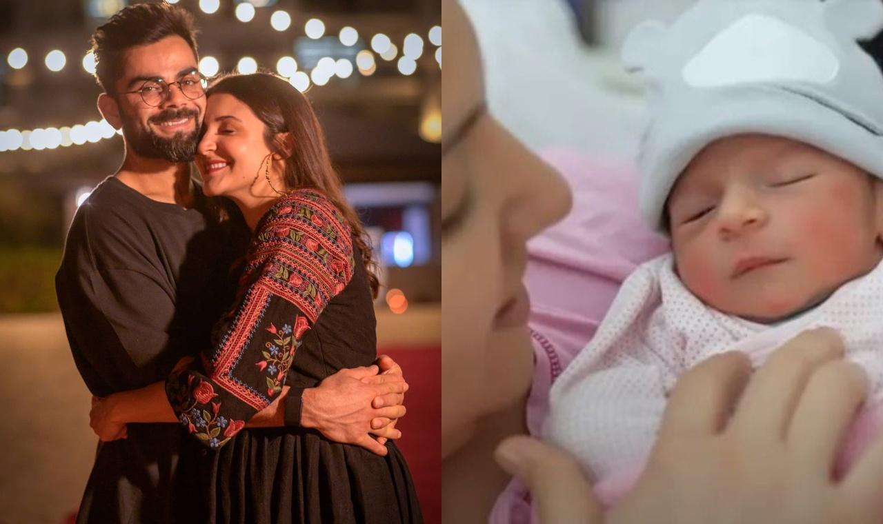 Virat Anushka blessed with baby