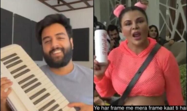 OMG: Yashraj Mukhate Turns Rakhi Sawant's Witty Dialogue Into Rap Song