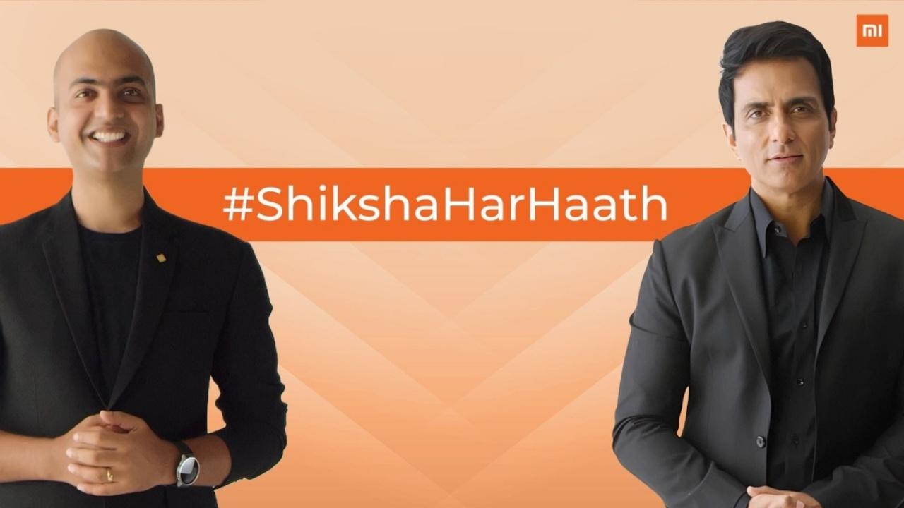 #ShikshaHarHaath with Sonu Sood and Mi