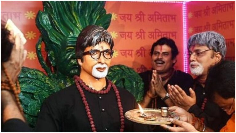 You Won't Believe That Amitabh Bachchan is Worshiped Everyday In This Temple!