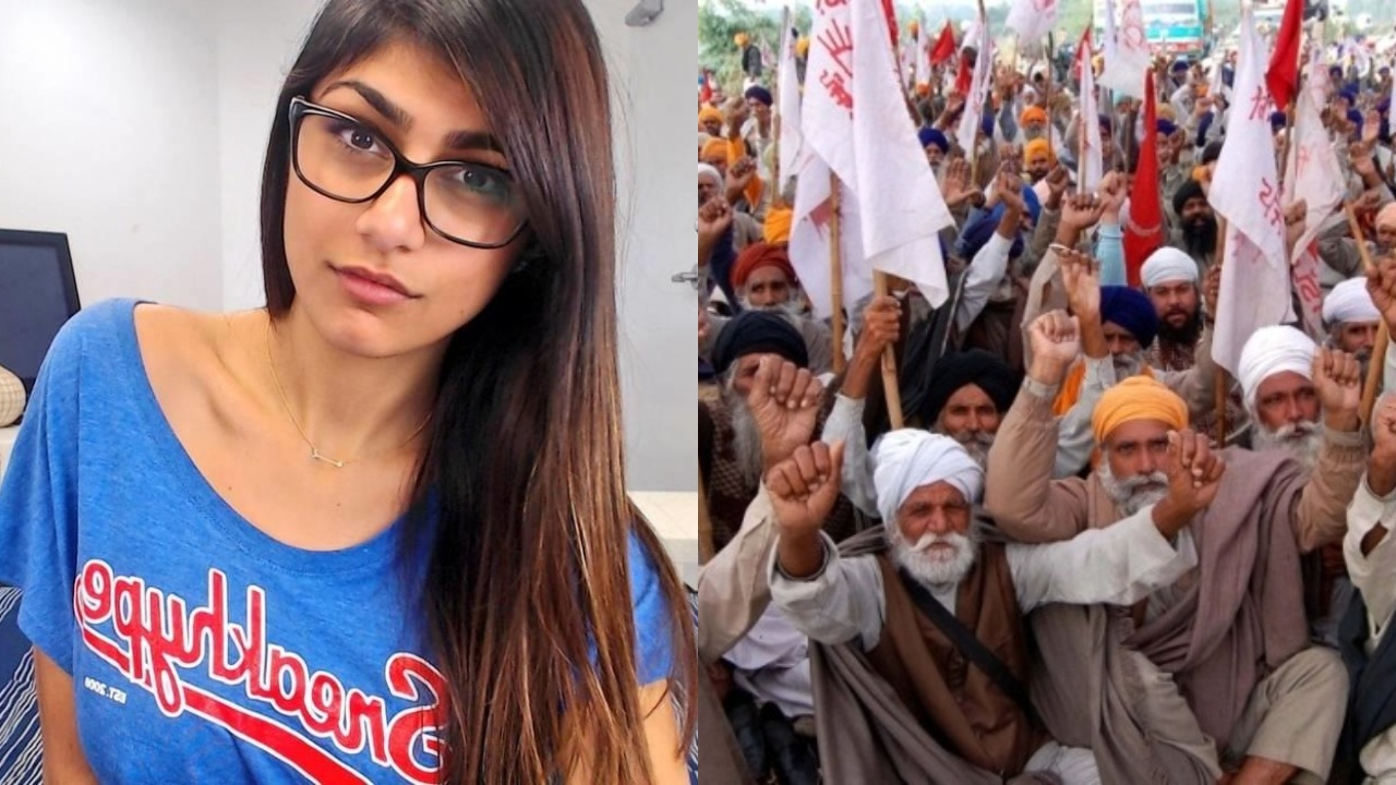 Mia Khalifa on farmers protest